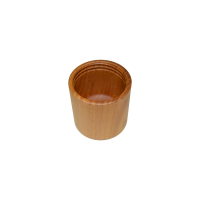 tsutsu wood cup bottle light Wood Cup